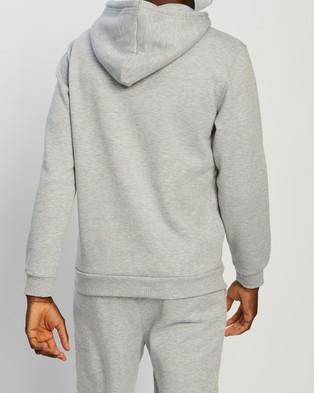 Factorie Basic Hoodie - Hoodies (Grey Marle)