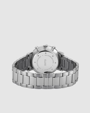 Cluse Aravis Chronograph Mesh - Watches (Silver)