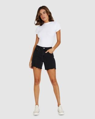 Ksubi Racer Denim Shorts - Shorts (BLACK)