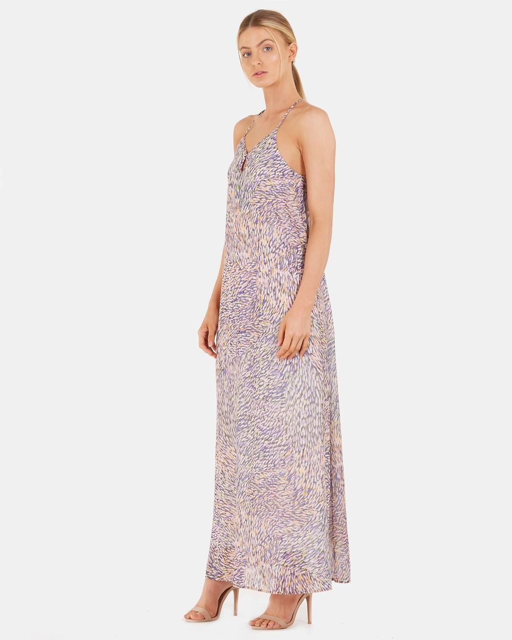 Socialight Multi Iris Glaze Maxi Dress