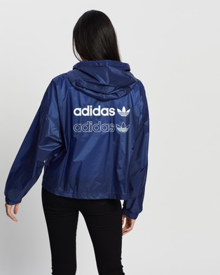 adidas Originals Windbreaker - Coats & Jackets (Blue)