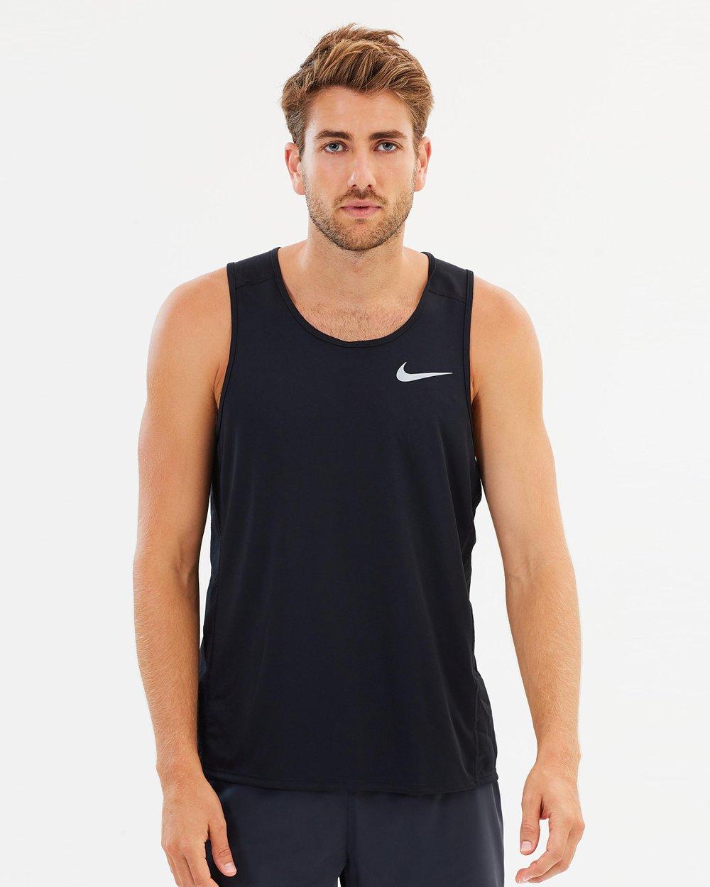 09a4d0c2e0f547 Men s Nike Miler Running Tank by Nike Online