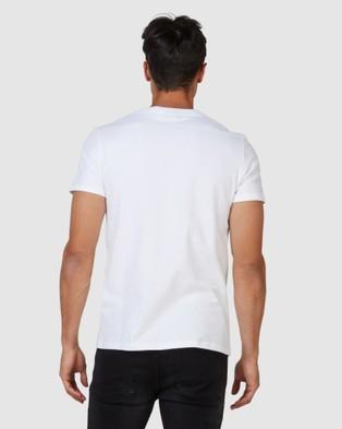 Superdry Vintage Logo Rising Sun Tee - T-Shirts (Optic)