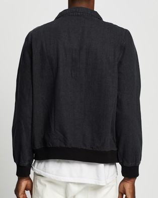 Commune Denim Bomber Jacket - Denim jacket (Black)