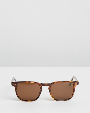 Pacifico Optical Blair - Square (Cola with Polarised Brown lens)