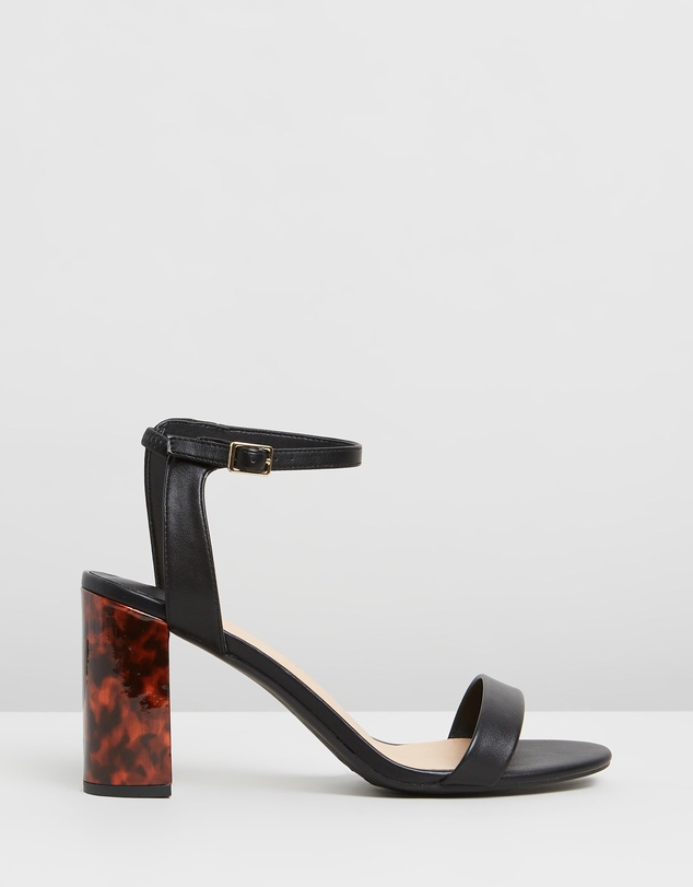 e39f9ab93d4 Shimmer Block Heels - Wide Fit
