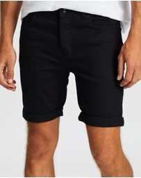 Topman - Morgan Stretch Skinny Chino Shorts