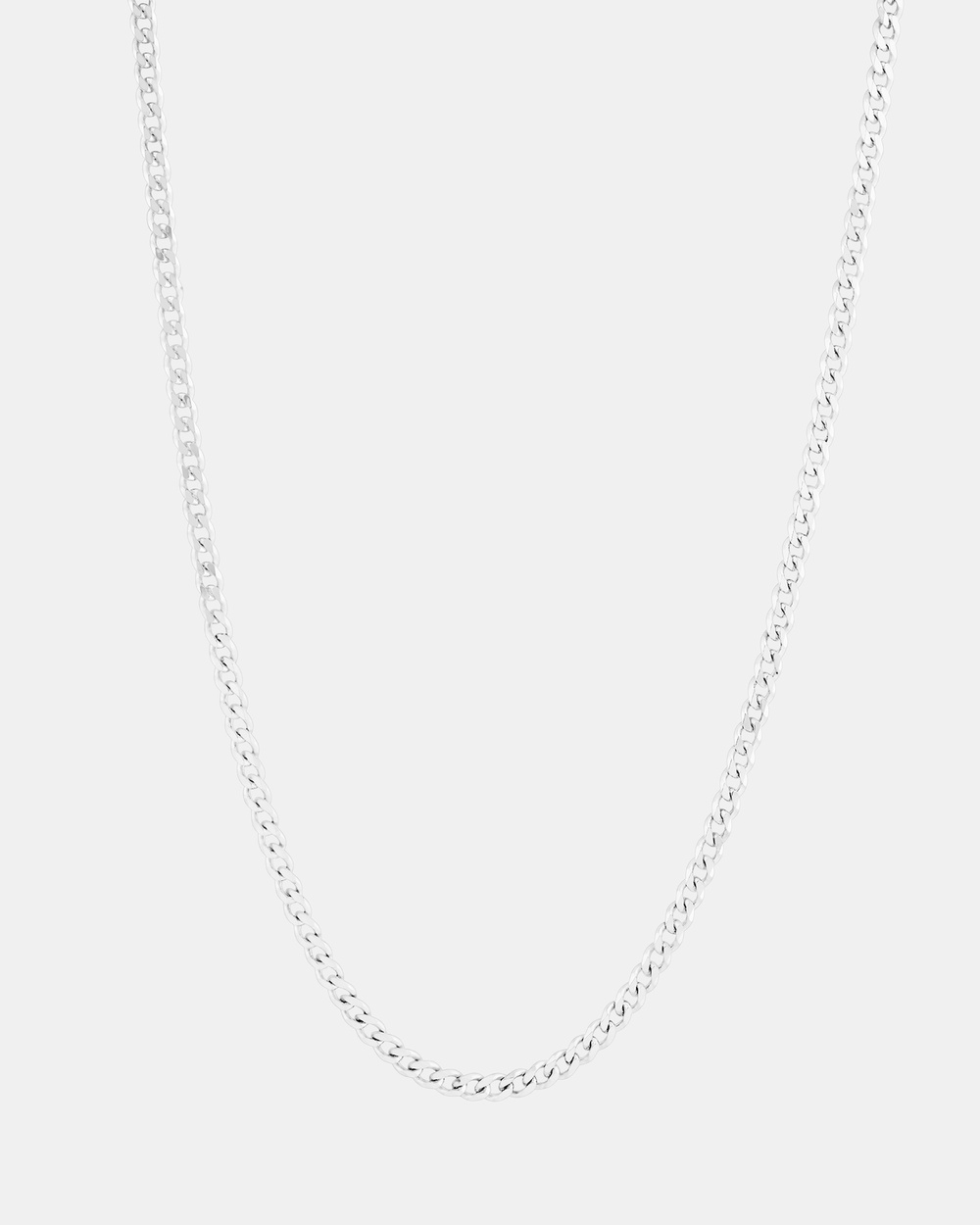 Michael Hill 60cm Curb Chain in Sterling Silver Jewellery Silver