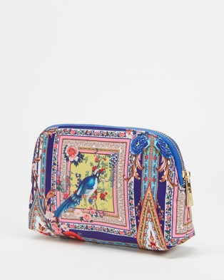 Camilla Small Cosmetic Case - Toiletry Bags (Party In The Palace)
