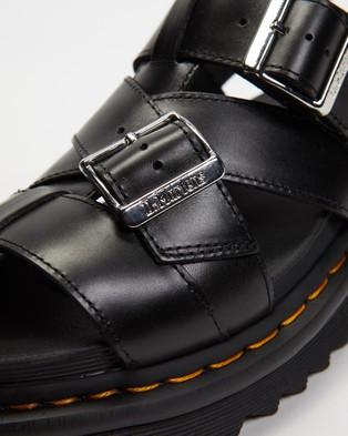 Dr Martens Terry II Slide Sandals   Women's - Sandals (Black Brando)