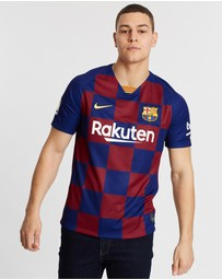 Nike - FC Barcelona 2019/20 Men's Messi #10 Home Football Jersey