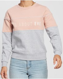All About Eve - Fronted Crew Sweater
