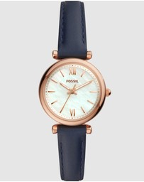 Fossil - Carlie Mini Navy Analogue Watch