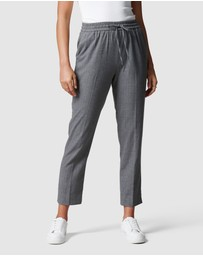 Forever New - Clarissa Pinstripe Jogger Pants