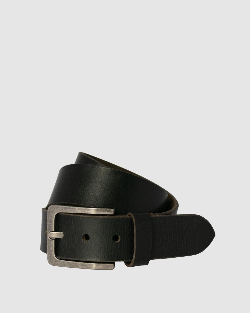 Loop Leather Co Billy Basic Belts Black