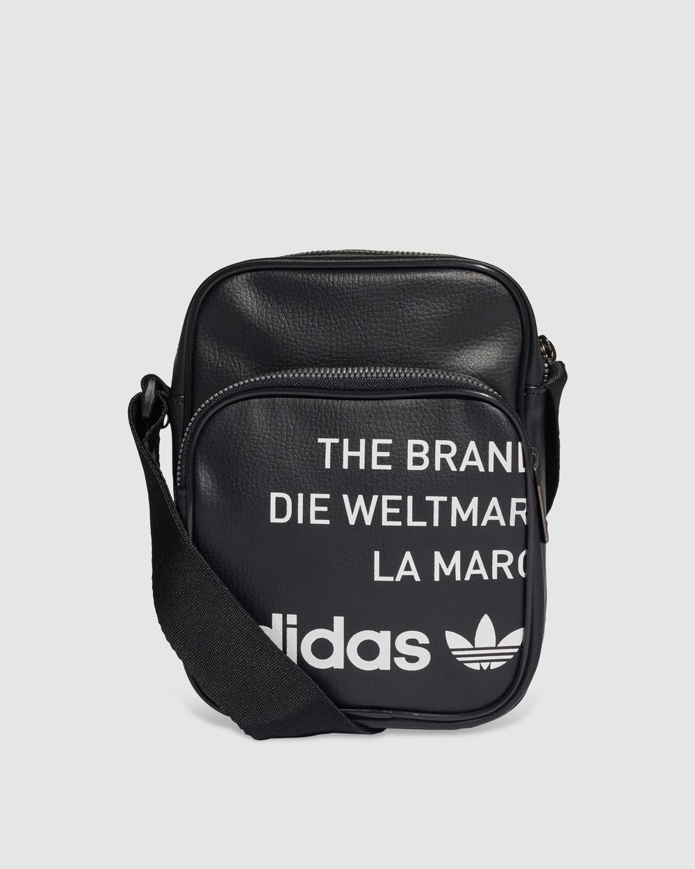adidas Originals Vintage Mini Bag Bags Black