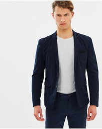 BOSS Orange - Bans Cotton Seersucker Sport Jacket