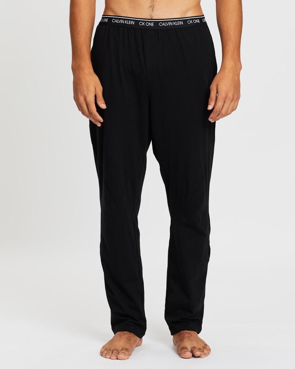 Calvin Klein Sleep Pants Accessories Black & White