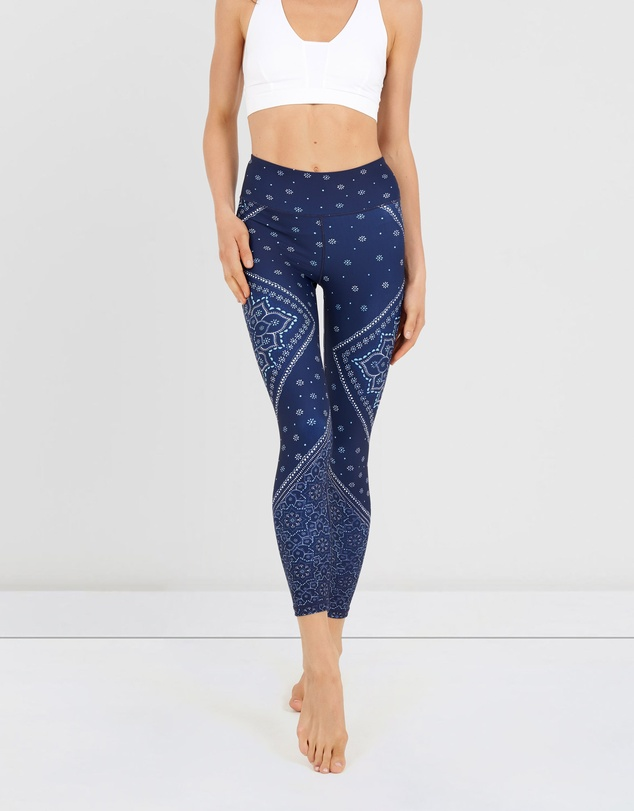 Dharma Bums - Gypsy Heart High Waist Leggings - 7/8