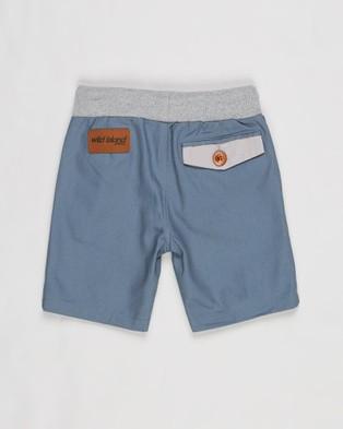 Wild Island The Sandshaker Shorts Babies Kids Chino Spruce Blue Babies-Kids
