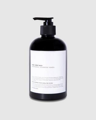 Fazeek Deep Cleansing Body Wash   Buddha Wood, Cedarwood & Kunzea - Beauty (Black)