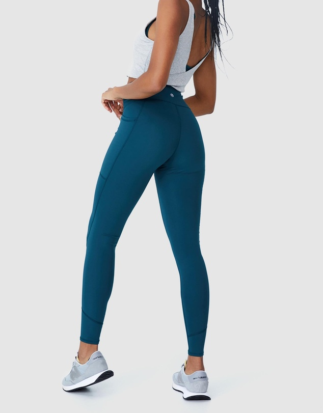Women Contouring Full-Length Tights