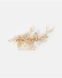 Ivory Knot - Adelle Hair Comb