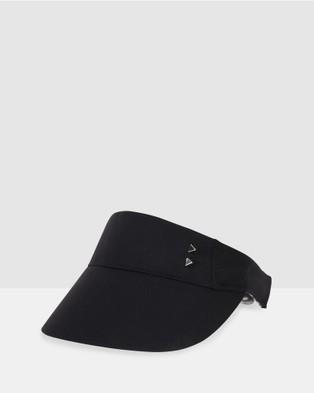 Bondi Peak - Notts Avenue Visor Hats (Black)