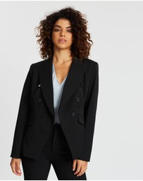 Banana Republic Petite - PETITE Cadet Double-Breasted Blazer