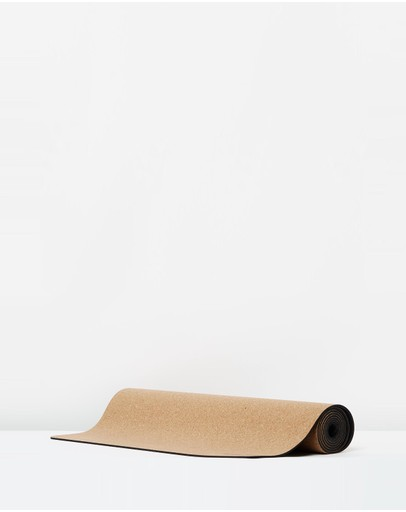Yellow Willow - Cork Yoga Mat
