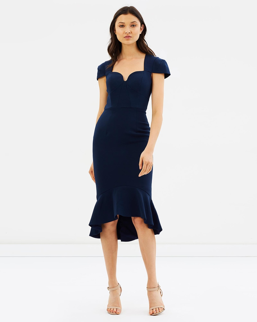 Love Honor Benita Dress Dresses French Navy Benita Dress