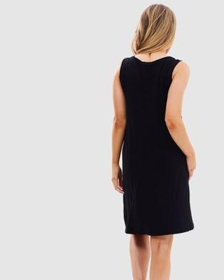 Bamboo Body - Adele Dress - Dresses (Black) Adele Dress