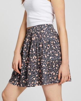 All About Eve - Kendall Jersey Skirt - Skirts (Multicoloured) Kendall Jersey Skirt