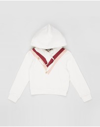 Feather Drum - Jamie Cropped Hoodie - Kids