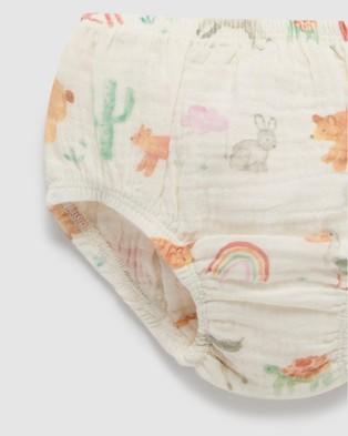 Purebaby Two Piece Set   Babies - Bloomers (Californina Coast)