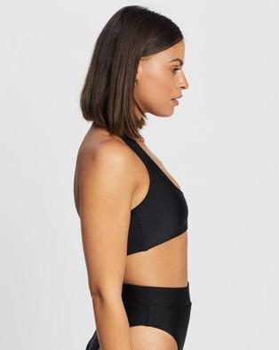 Endless - Roadtrips Halter Bikini Top Tops (Black)