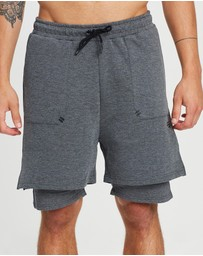 First Ever - Double Layer Fleece Shorts