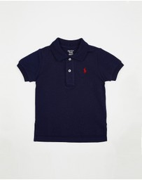 Polo Ralph Lauren - Cotton Mesh Polo Shirt - Babies