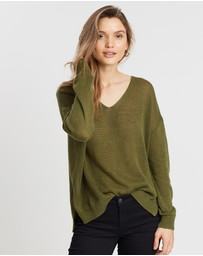 Rusty - Surface V-Neck Knit