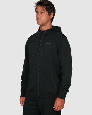 RVCA Sport Tech Hoodie - Jumpers & Cardigans (BLACK)