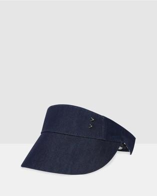 Bondi Peak Notts Avenue Visor - Hats (Navy)