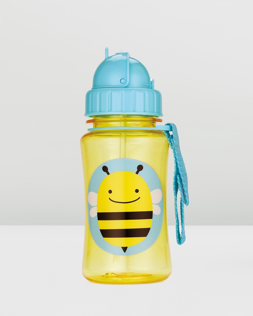 Skip Hop - Zoo Straw Bottle - Water Bottles (Bee) Zoo Straw Bottle