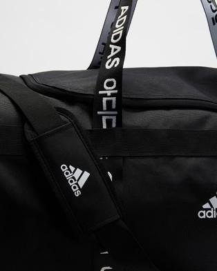 adidas Performance 4ATHLTS Large Duffle Bag - Duffle Bags (Black, Black & White)