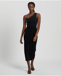 Bec + Bridge - Lelani Asymmetric Midi Dress