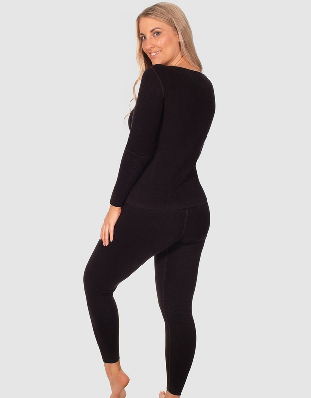 Women Invisible Edge Thermals Set