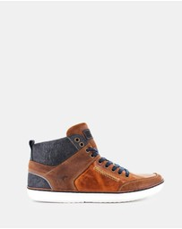 Wild Rhino - Hartwood Hi- Top Shoes