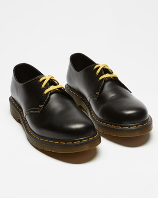 Dr Martens - 1461 Atlas Leather Oxford Shoes Men's Dress (Dark Grey)