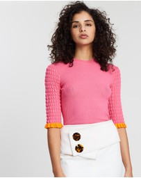See By Chloé - Light Textured Top