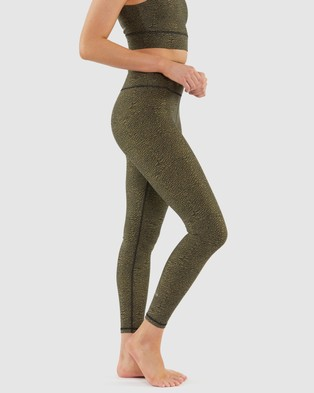 B.O.D by Rachael Finch Ashes Leggings - Full Tights (Spruce)