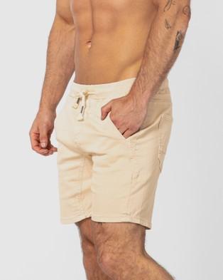 ONEBYONE Robin Shorts - Shorts (Sand)